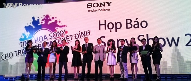 """Khai mạc Sony Show 2013, chính thức ra mắt """"bom tấn"""" Xperia Z1 tại Việt Nam"""