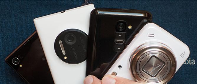 Đọ chụp ảnh Lumia 1020, Galaxy S4 Zoom, Xperia Z1 và LG G2