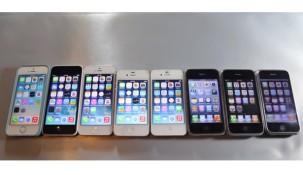 Video: Đọ tốc độ xử lý của 8 phiên bản iPhone