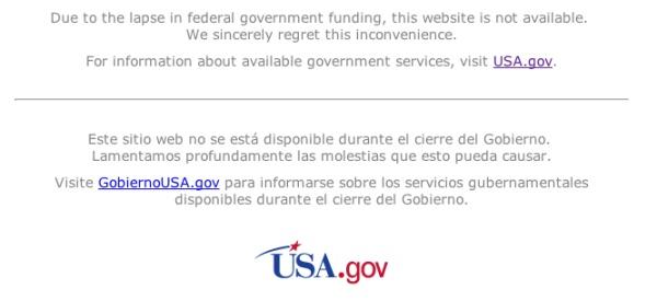 Chính phủ Mỹ đóng cửa trên mạng như thế nào?
