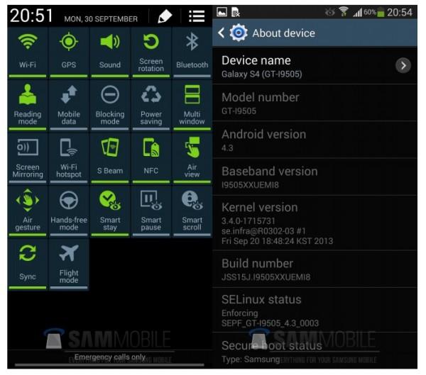 Cách cài ROM Android 4.3 cho Galaxy S4