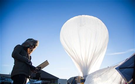 Google đã giữ khinh khí cầu Wi-fi ở trên không như thế nào?