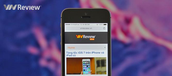 VnReview tặng bạn đọc điện thoại iPhone 5s