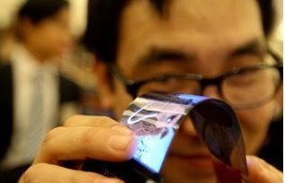 Smartphone màn hình cong Galaxy Round sẽ ra mắt trong tuần?