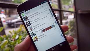 Lộ ảnh nóng Hangouts tích hợp SMS, MMS