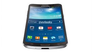 Smartphone màn hình cong Samsung Galaxy Round lộ bức ảnh đầu tiên