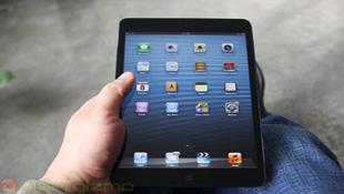 iPad mini - tablet có màn hình cảm ứng nhạy nhất