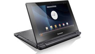 Lenovo tablet lai laptop chạy Android, màn hình xoay 300 độ
