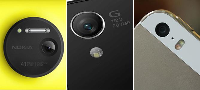So ảnh chụp thử từ camera Lumia 1020, Xperia Z1 và iPhone 5s