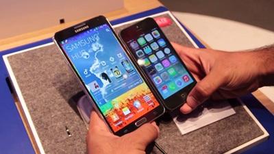 Galaxy Note 3, iPhone 5s: Máy nào bền hơn?