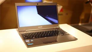 Đến lượt Toshiba giới thiệu ultrabook