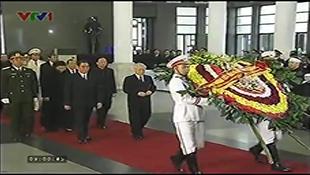 Lễ viếng Đại tướng Võ Nguyên Giáp theo nghi thức Quốc tang