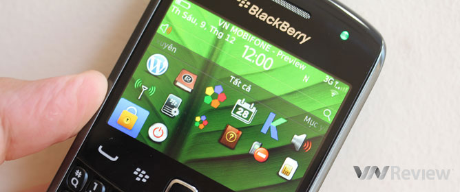 Đánh giá nhanh BlackBerry Curve 9360