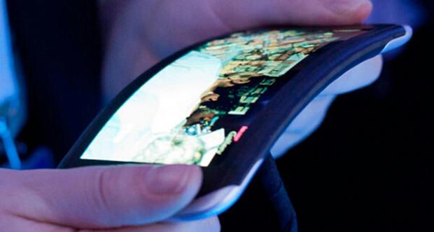 Lộ ảnh LG G Flex màn hình cong, mặt trước không có phím cứng
