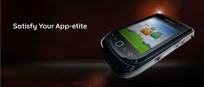Lộ trình BlackBerry năm 2012
