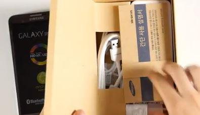 Đập hộp Samsung Galaxy Round và viên pin lạ kỳ