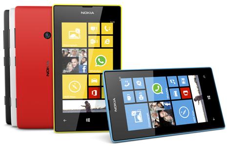 Lumia 520 chiếm tới gần 1/3 số máy Windows Phone 8 toàn cầu