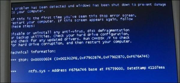 Khắc phục nhanh lỗi máy tính không vào được Windows