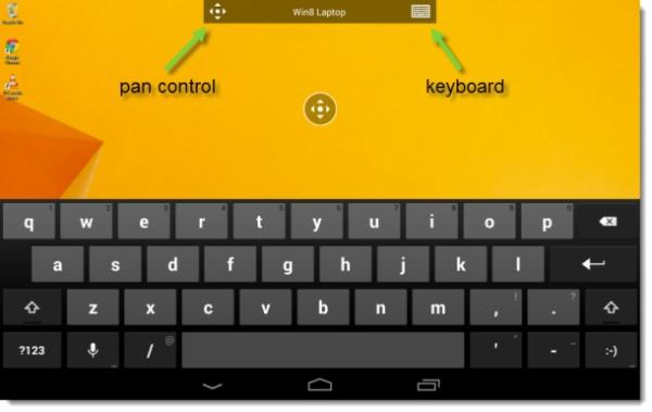 Điều khiển máy tính từ xa trên Android