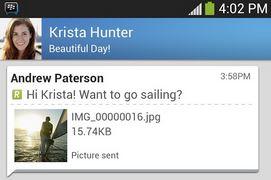 BlackBerry Messenger cho Android và iOS chính thức trình làng