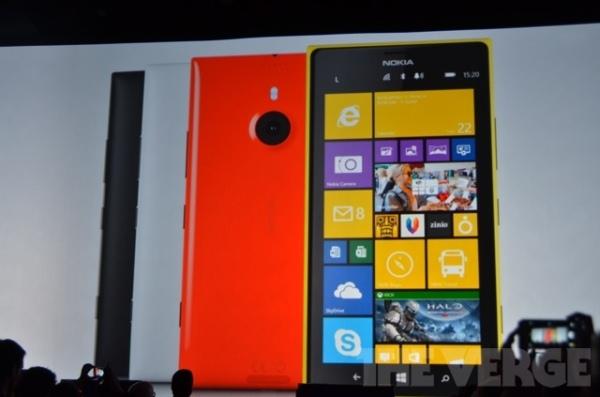 Nokia ra mắt Lumia 1520: Màn hình 6 inch, chip Snapdragon 800, RAM 2GB, camera PureView