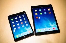 iPad Air, iPad Mini (Retina) đọ thông số với iPad 4 và iPad Mini