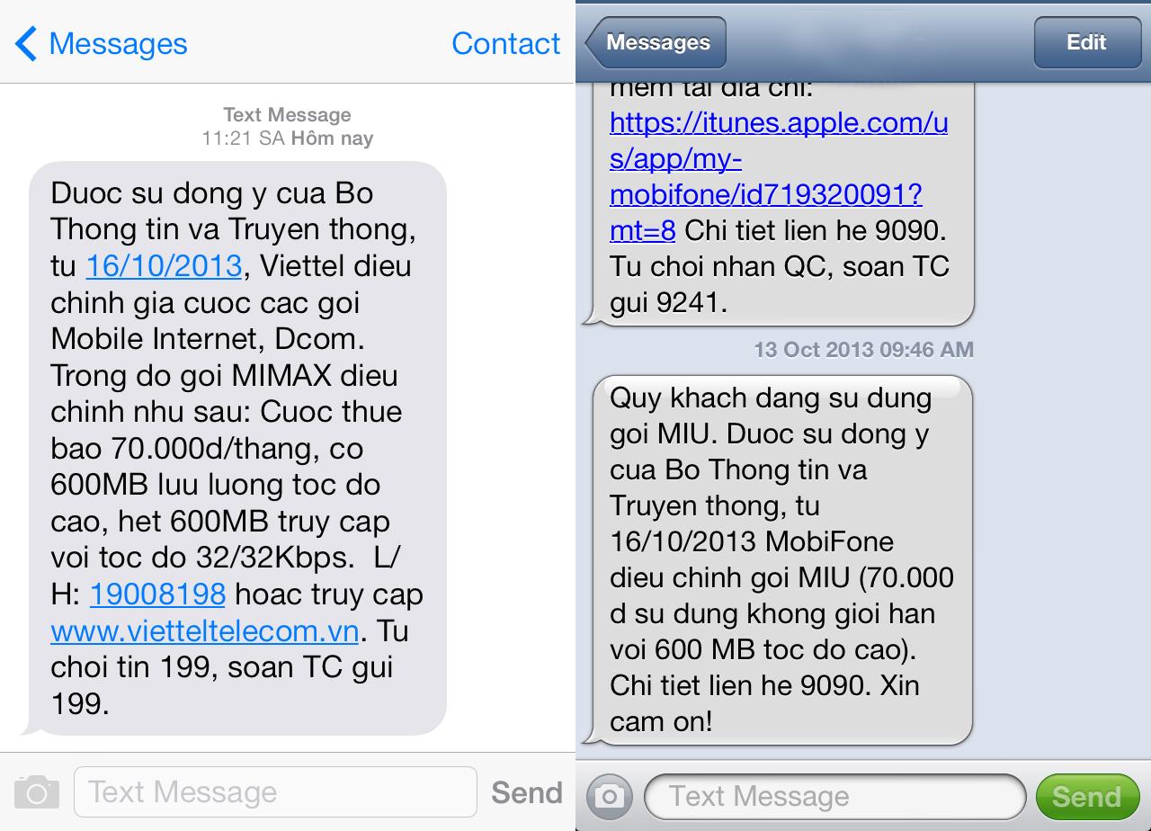 Phó Thủ tướng yêu cầu kiểm tra việc đồng loạt tăng cước 3G