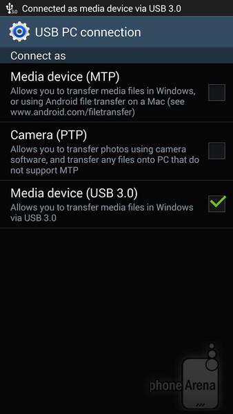 Galaxy Note 3 USB 3.0