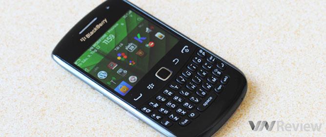 Đánh giá BlackBerry Curve 9360