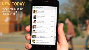 Hangouts thay thế ứng dụng SMS trên Android, hỗ trợ gọi video HD