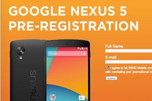 Nexus 5 bắt đầu cho đặt hàng trước, sẵn sàng lên kệ