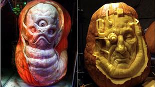Đón Halloween với bộ sưu tập bí ngô ghê rợn