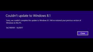 Nối gót Windows 8, bản cập nhật Windows 8.1 dính lỗi driver