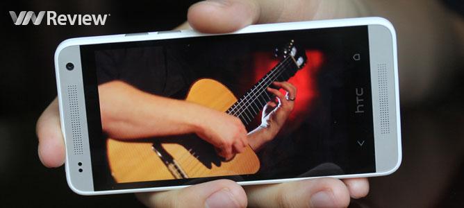 Đánh giá điện thoại HTC One mini
