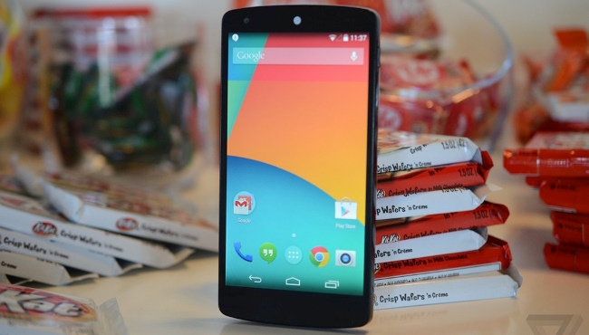 Trên tay Nexus 5