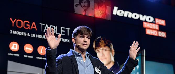 """""""Steve Jobs màn ảnh"""" trở thành kỹ sư Lenovo"""