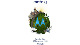 Motorola sẽ ra mắt Moto G vào 13/11, giá 4 triệu đồng