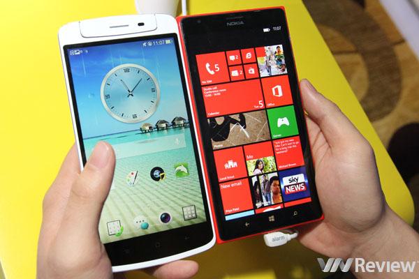 Trên tay điện thoại Nokia Lumia 1520 chính hãng