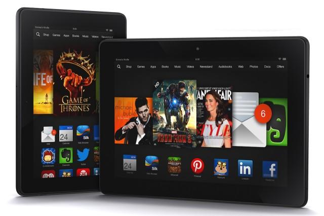 Màn hình Kindle Fire HDX 8.9 vượt trội iPad Air và Nexus 10