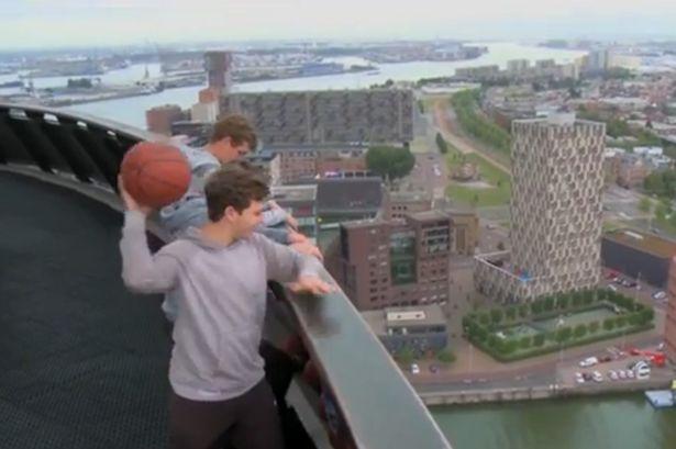 Cú ném bóng rổ trúng đích cao nhất thế giới