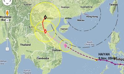 Siêu bão Haiyan hình thành như thế nào?