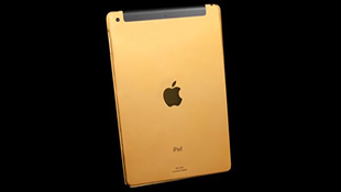 Ngắm iPad Air, iPad Mini Retina phiên bản dát vàng 24ct