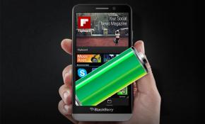 Thử nghiệm pin BlackBerry Z30: Trụ được hơn 2 ngày