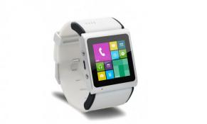 Trên tay smartwatch kiêm smartphone giao diện Windows Phone
