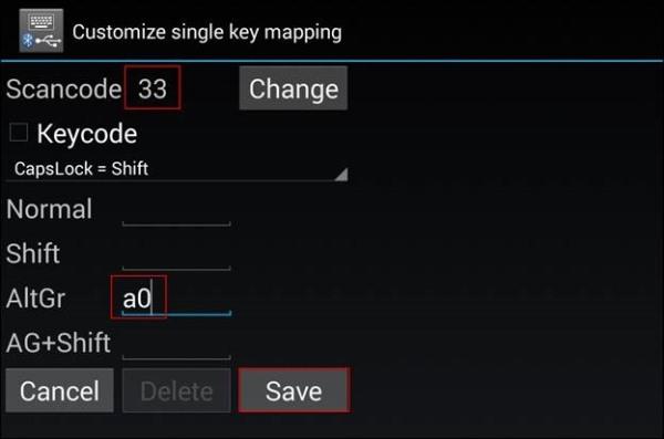 bàn phím bluetooth Android