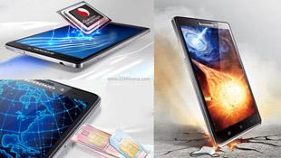 Lenovo trình làng Vibe Z: phablet 2 sim, 5.5 inch, Snapdragon 800