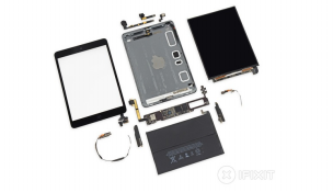 iFixit: iPad mini Retina rất khó sửa