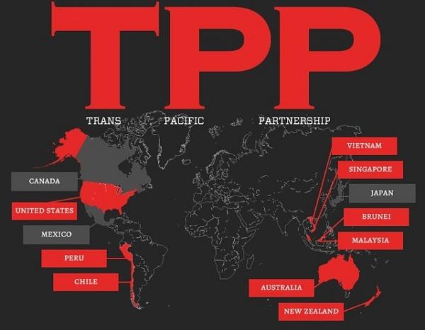 Lộ mật bản nháp TPP: Siết chặt bản quyền