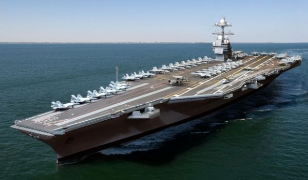 Tàu chiến thế hệ mới của Mỹ mang công nghệ cao ra đại dương