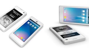 YotaPhone: 2 màn hình, CPU lõi kép, ra mắt vào tháng 12